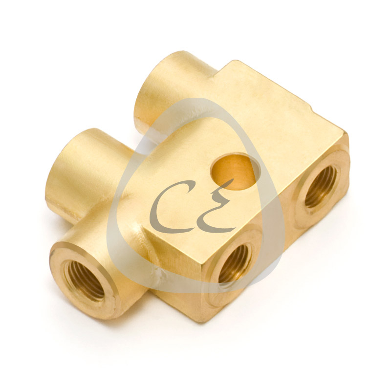 Brass Five Way Brake Union, Brass 5 Way Brake Connector , Brass M 10 x 1 Brake Pipe Union, Brass M 10 x 1 Brake Pipe Connector