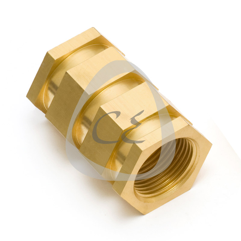 Brass Hex Insert for PE Electrofusion Pipes