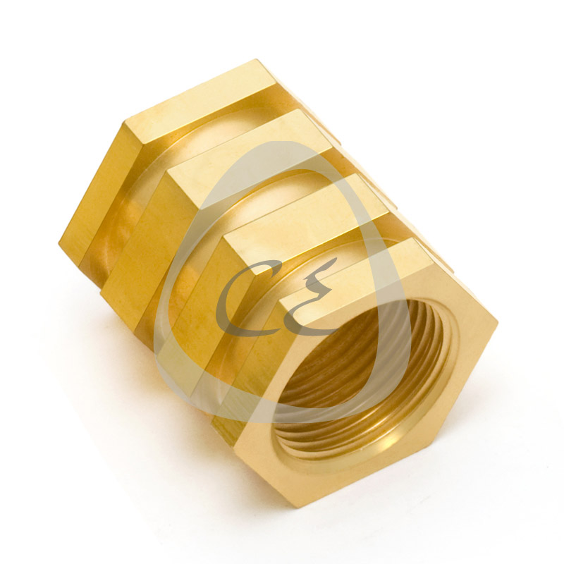 TF Brass Insert 50 mm for PE Electrofusion Pipes