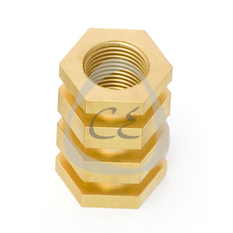 TF Brass Insert 30 mm for PE Electrofusion Pipes